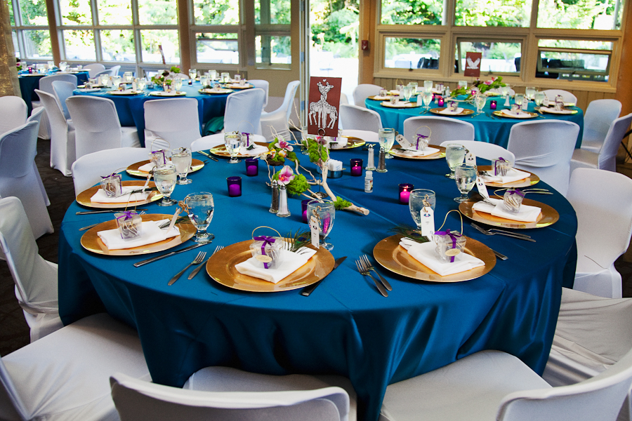 Royal Blue And Gold Decoration Ideas