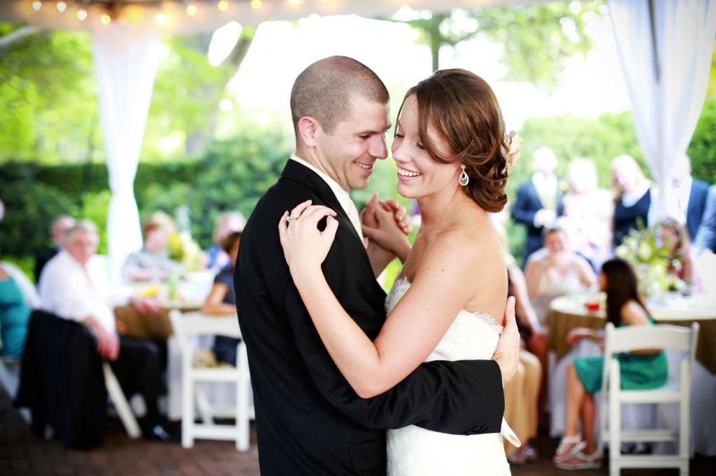 Yellow and Green Southern Vintage Wedding via TheELD.com