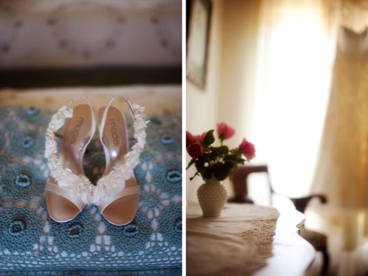 Rustic California Vineyard Wedding via TheELD.com