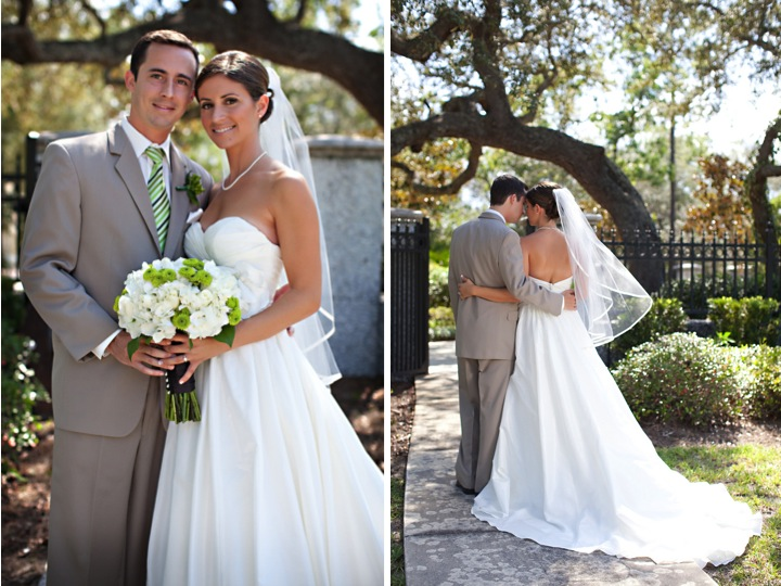 Classic Green Florida Wedding via TheELD.com