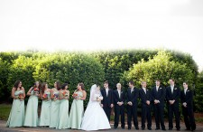 Elegant green and purple wedding 19
