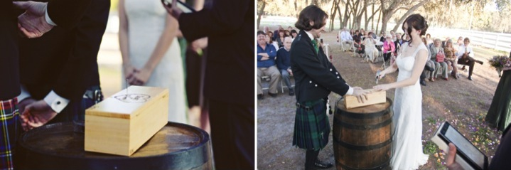 Rustic Eco Friendly Lange Farm Wedding via TheELD.com