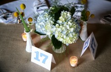 Yellow and blue rustic elegant wedding 25