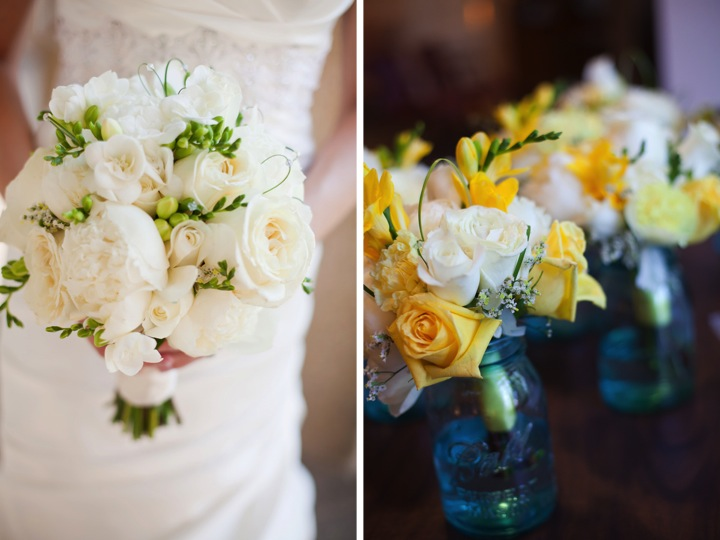 Yellow and Blue Rustic Elegant Wedding Every Last Detail Yellow and Blue