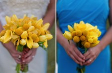 Yellow and blue wedding 10