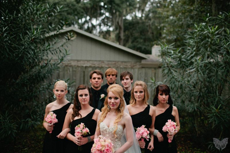 Stylish & Modern Pink & Black Wedding {Part 1}