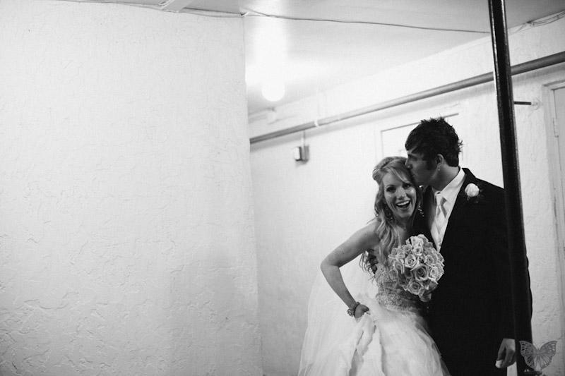 Stylish & Modern Pink & Black Wedding {Part 2} via TheELD.com