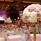 Elegant pink and gold wedding 12