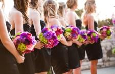 Modern Elegant Pink and purple wedding 16