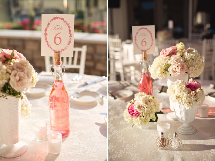 Pink and White Shabby Chic Wedding
