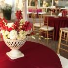 Red elegant wedding 7