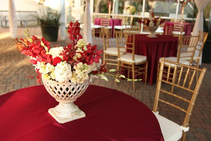 Elegant Red Georgia Wedding Every Last Detail