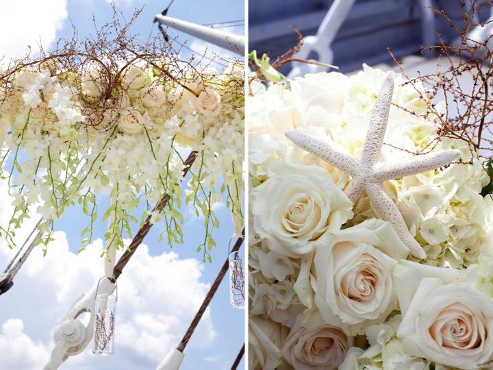 Modern Nautical Wedding Inspiration Every Last Detail Modern Nautical