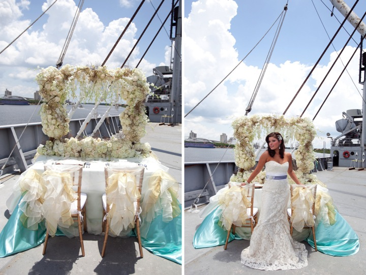 Modern Nautical Wedding Inspiration