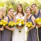 Rustic Chic Yellow and Gray Wedding 13