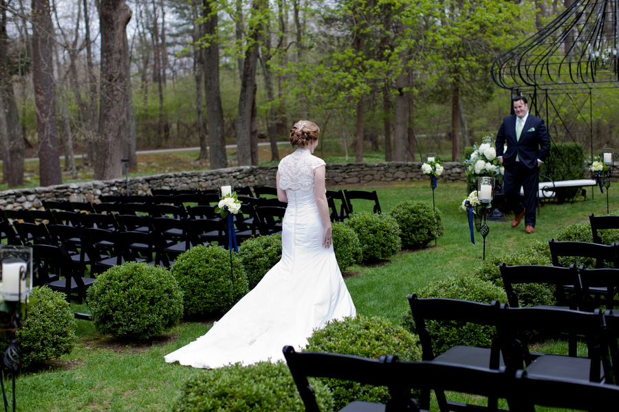 Classic Green and Blue Connecticut Wedding