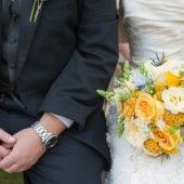 Yellow and blue garden wedding_025