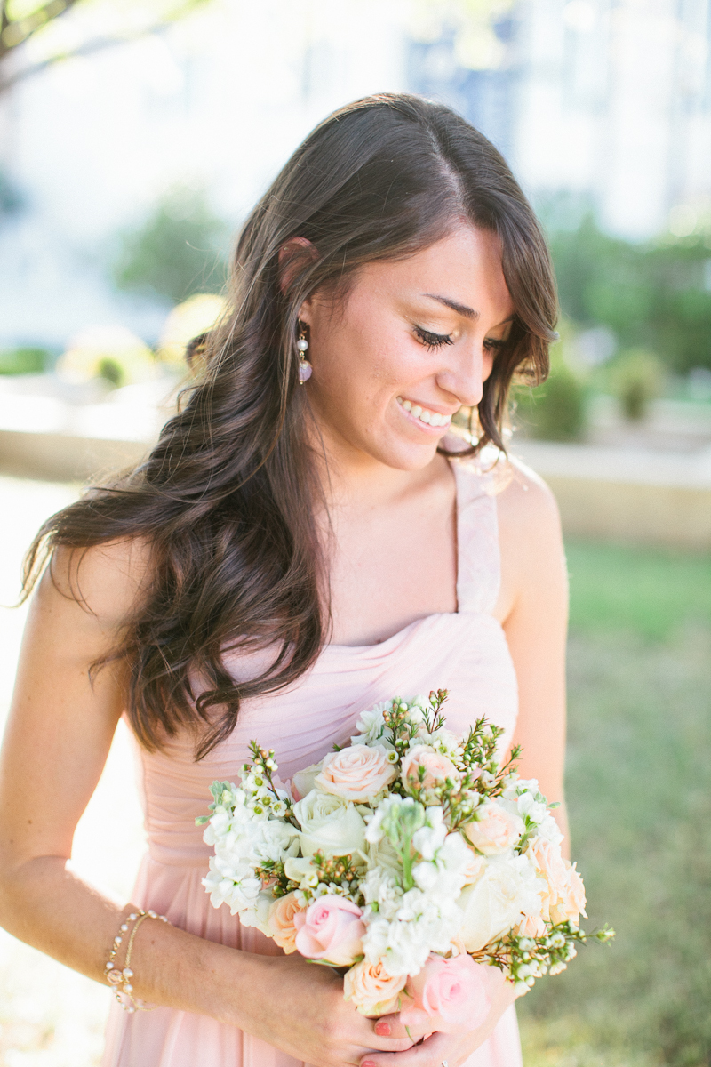 Pink Vintage DIY Oklahoma Wedding via TheELD.com