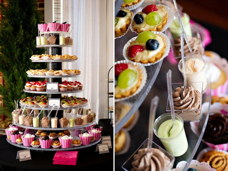 French Themed Bridal Shower Food Ideas