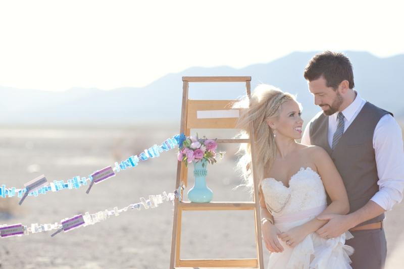 Wedding Detail Inspiration: Modern Cobalt Blue & Plum via TheELD.com