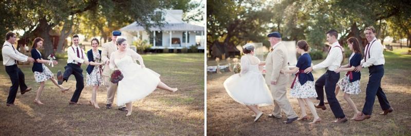 Vintage DIY Texas Barn Wedding via TheELD.com