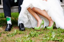 Modern Eco-Friendly Black and Green Wedding_020
