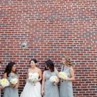 Modern Gray White and Yellow Wedding_017