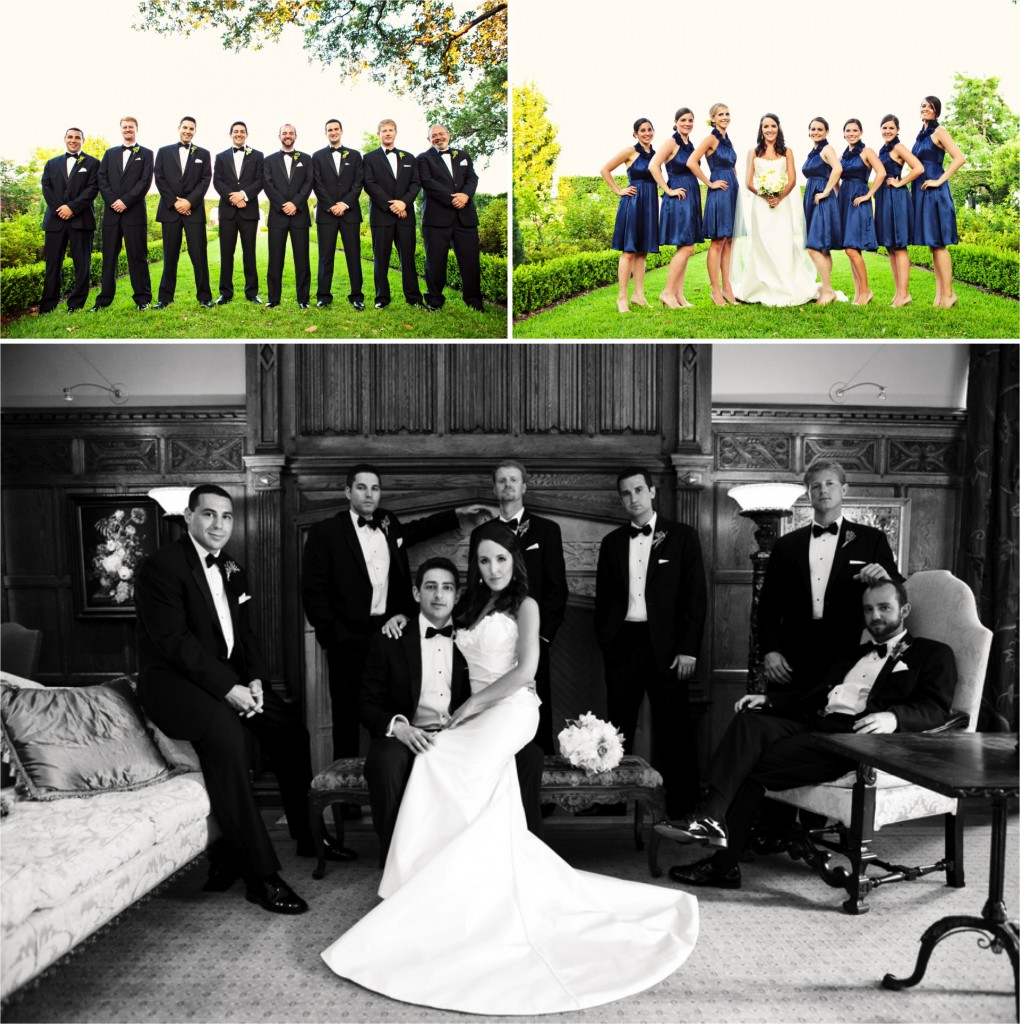 Classic Jacksonville Garden Wedding via TheELD.com