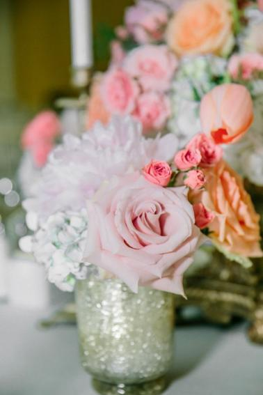 An Elegant Pink and Peach Southern Wedding