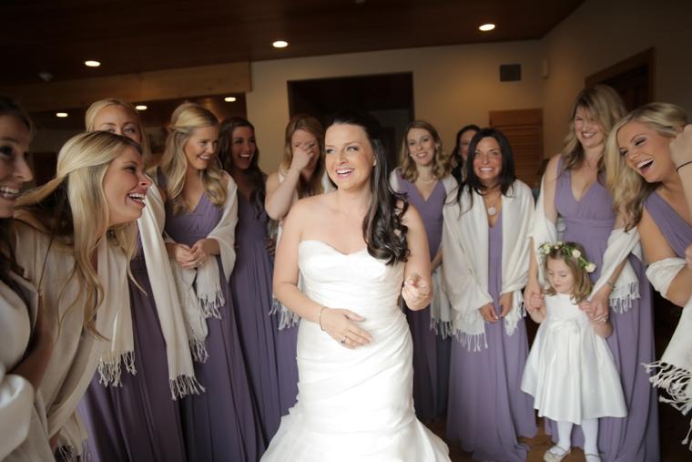 Lavender & Green Nature Inspired Utah Wedding via TheELD.com