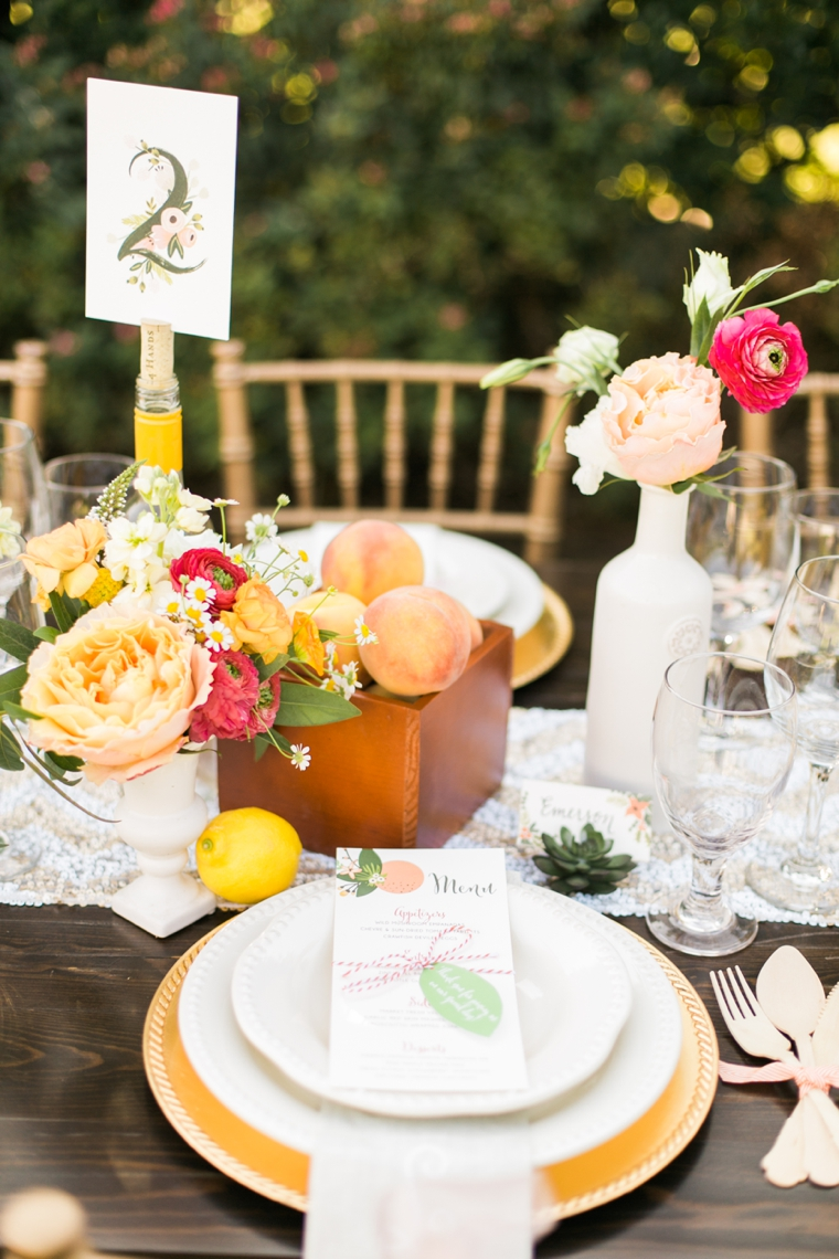 Chic & Charming Peach Wedding Ideas