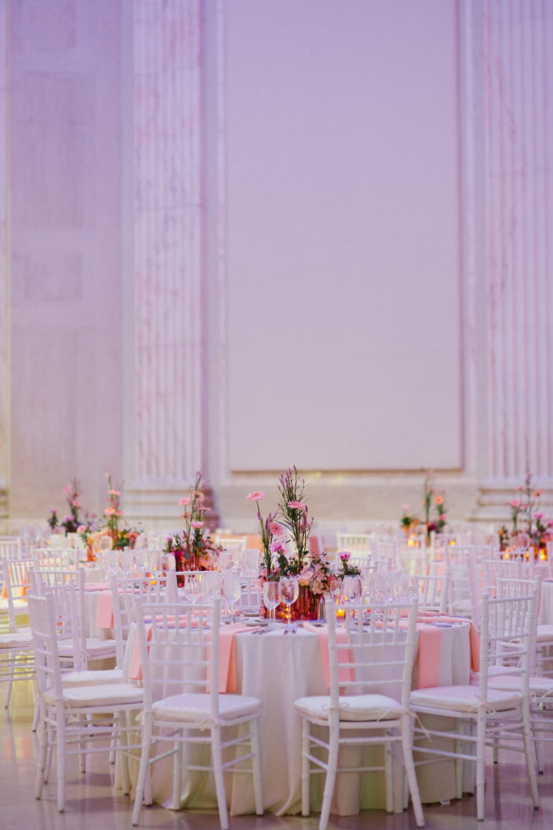 Eclectic Pink and Coral Philadelphia Wedding via TheELD.com