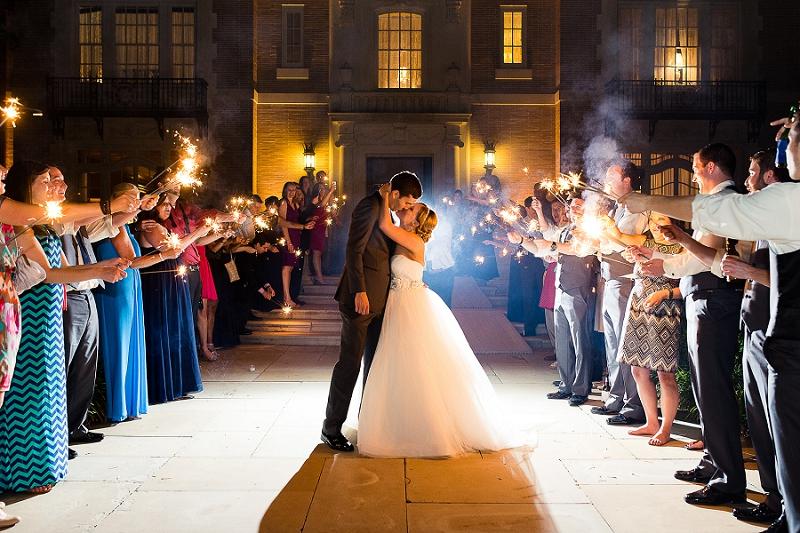 Whimsical Navy and Yellow Texas Wedding via TheELD.com