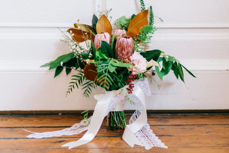 Organic Blush and Green Wedding Ideas via TheELD.com