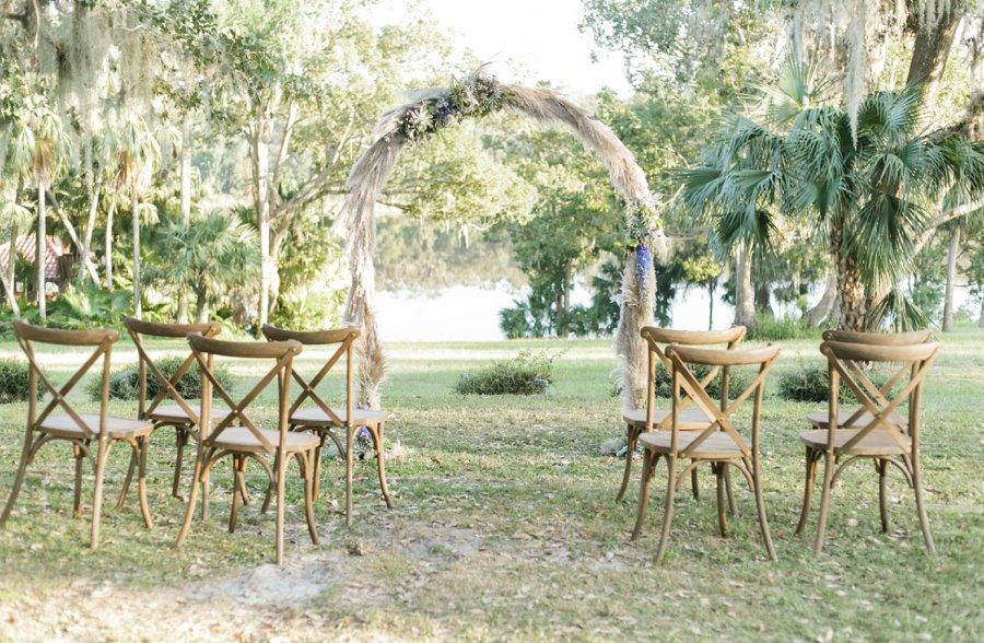 Blue & Green Vintage Garden Wedding Ideas via TheELD.com