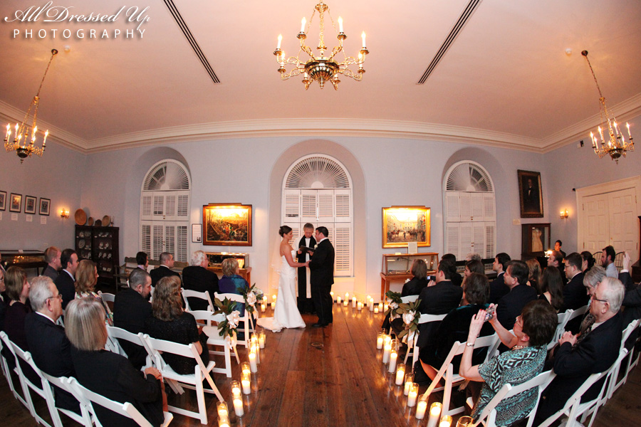 A Classic Candlelit South Carolina Wedding via TheELD.com