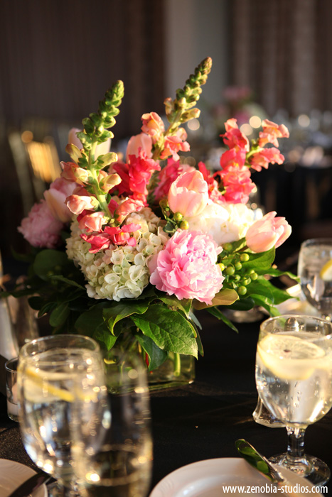 Chic Pink New Jersey Wedding via TheELD.com