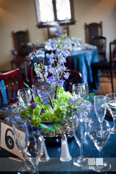 Peacock Feather Centerpiece : A gorgeously done peacock wedding every last detail