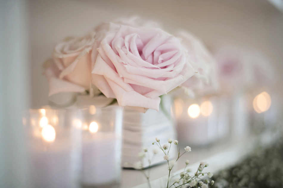 Modern, Chic Pink & Gray Inspiration Shoot {The Design} via TheELD.com