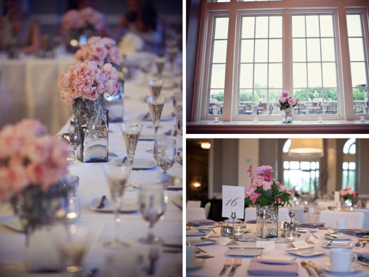 Classic Pink & Gray Wedding {Part 2} via TheELD.com