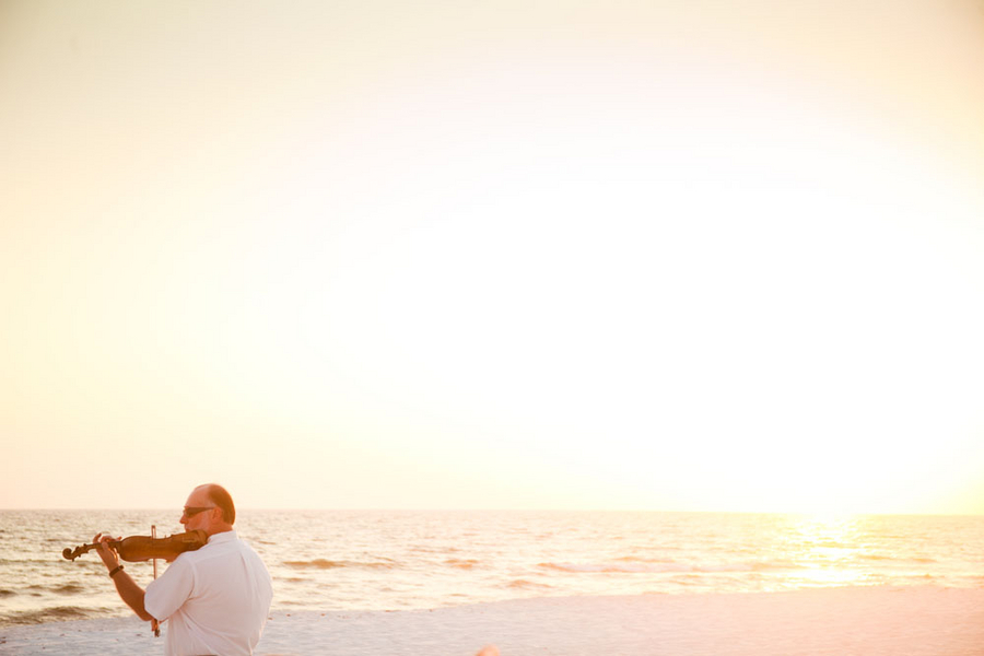 Purple Florida Beach Wedding: Part 1 via TheELD.com