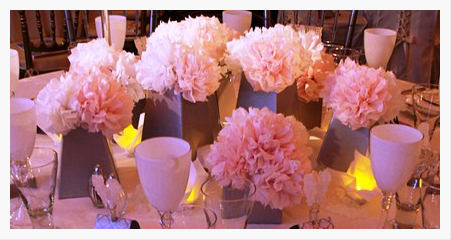 Wedding Tissue Paper Flowers