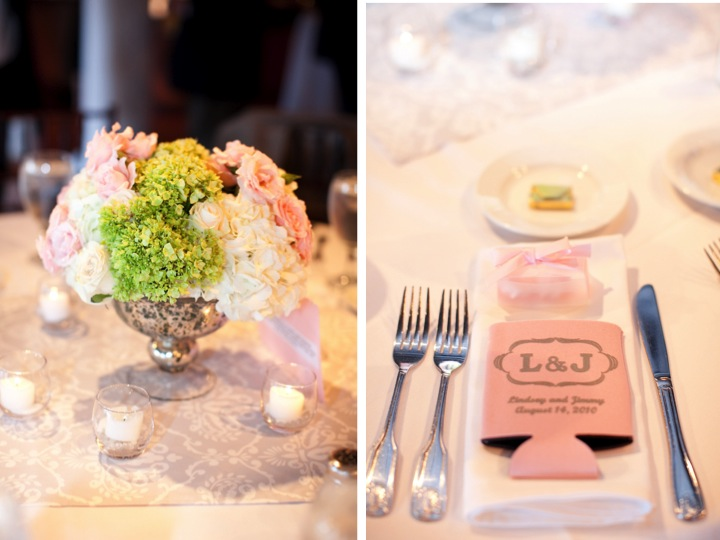 Gorgeous Pink Florida Wedding via TheELD.com