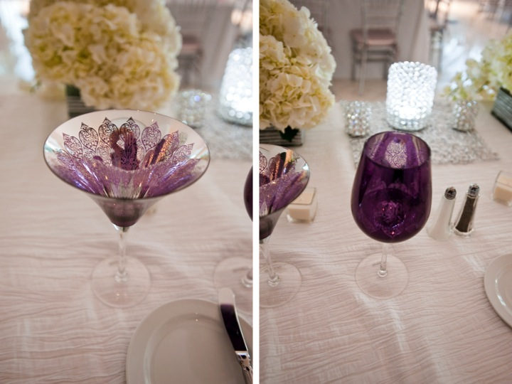 Modern Purple Miami Wedding via TheELD.com