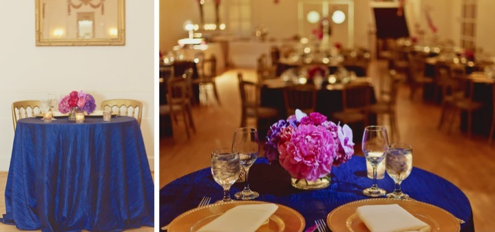 Elegant Pink & Navy Wedding {Part 2} via TheELD.com