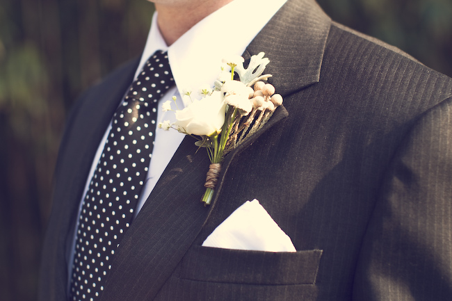 Rustic Southern Wedding via TheELD.com