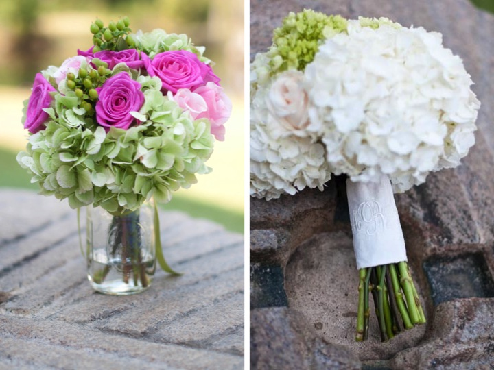 Rustic Pink & Green Southern Wedding via TheELD.com