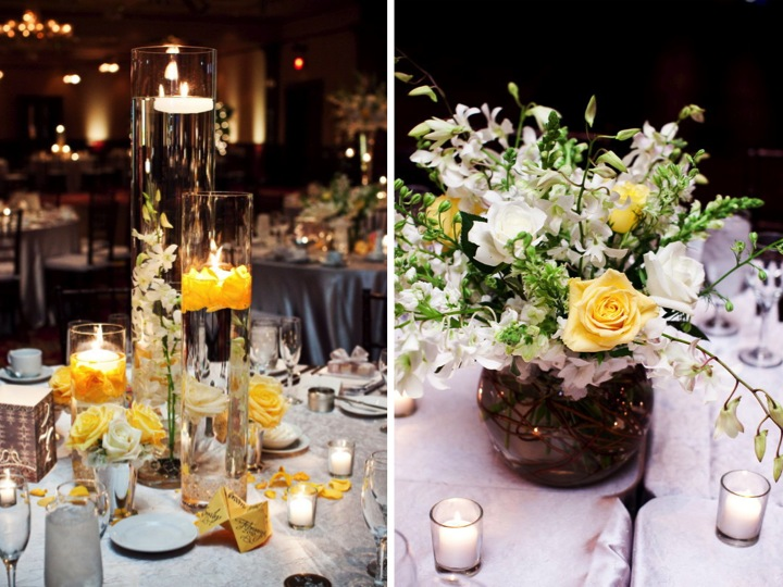 Elegant Florida Ballroom Wedding via TheELD.com