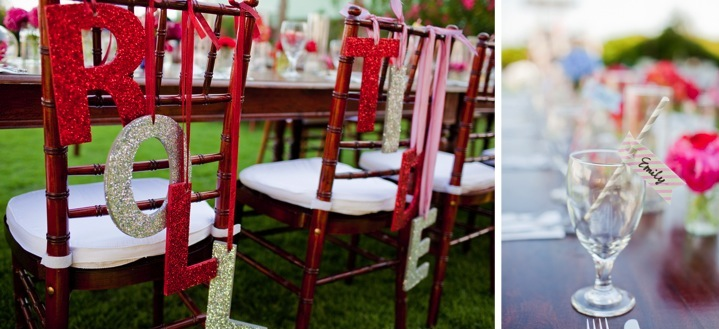 Carnival Chic Florida Wedding {Part 2}  via TheELD.com
