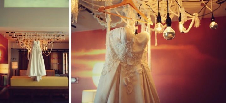 Eclectic Purple Wedding At The Postcard Inn {Part 1} via TheELD.com